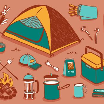 Camping pakke 2 personer.
